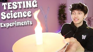Download TESTING SCIENCE EXPERIMENTS! 4 Video