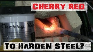 Download MAGIC DUST STEEL HARDENING | CHERRY RED Video