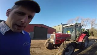 Download Hedgecutting with the Massey Ferguson 6160 Video
