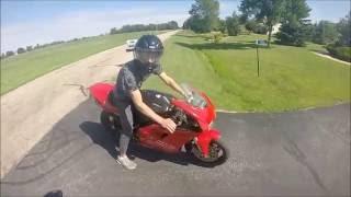 Download Honda cr 250 vs Ducati 748!!! Video