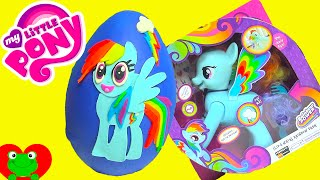 Download My Little Pony Rainbow Dash Play Doh Surprise Egg with MLP Surprises Video