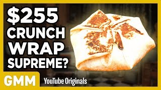 Download $255 Taco Bell Crunchwrap Supreme | FANCY FAST FOOD Video