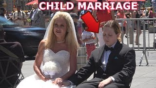 Download 50 Year Old Woman Marries 12 Year Old Boy!(Child Marriage Social Experiment) Video