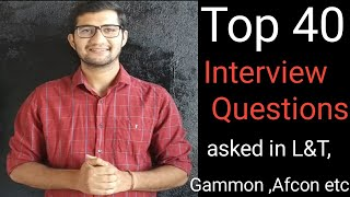 Download Top most interview Questions asked in L&T ,Afcon etc | Civil Engineering Basic Interview Questions Video
