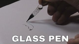 Download .~~° Glass Dip Pen Drawing ° ~~. (& grinding my own ink) Video