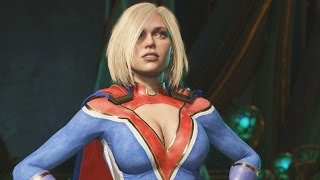 Download Injustice 2 - Power Girl All Intro/Interaction Dialogues Video