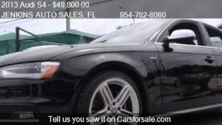 Download 2013 Audi S4 Premium Plus - for sale in Pompano Beach, FL 33 Video