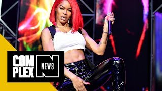 Download Teyana Taylor Calls Jeremih a 'Lame Ass N***a,' Drops Out of Tour Video