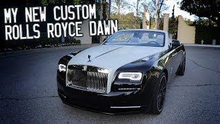 Download Here in my garage, my custom Rolls Royce Dawn! Video