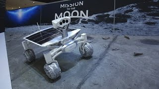 Download Audi's amazing robotic moon rover at the Detroit Auto Show Video