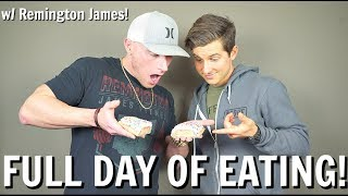 Download Full Day of Eating with Remington James! Video