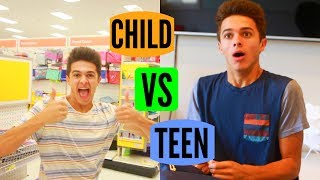 Download CHILD VS TEEN: Back to School! | Brent Rivera Video