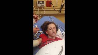 Download Coming out of anesthesia after broken arm. Video