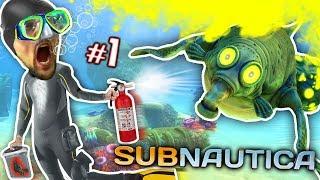 Download ALIEN OCEAN: Stinky Walrus Shark Ambush! FGTEEV plays Subnautica #1 Video