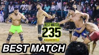 Download #235 BEST MATCH:- JALALPUR VS KALSIAN (MAHIAN WALA KABADDI TOURNAMENT 2017) Video