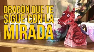 Download Cómo hacer un dragón que te sigue con la mirada (Experimentos Caseros) Video