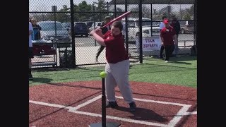 Download Baseball player with Down syndrome celebrates ″best home run ever″ with dance moves Video