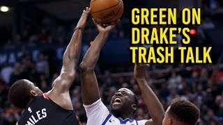 Download Green on Drake's trash talk, giving Raptors attention Video