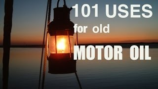 Download 101 uses for old motor oil Video