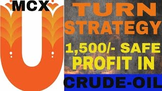 Download How to earn 15 18 points from MCX Crude oil U-Turn Formula (Hindi) Video