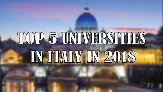 Download Top Universities in Italy | Best 5 Top Universities in Italy in 2018 Video