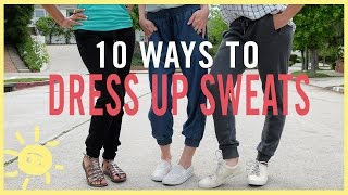 Download MOM STYLE | 10 Ways to Dress Up Sweats Video