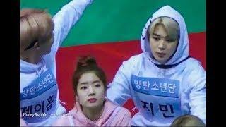 Download BTS JIMIN KEEPS STARING TO TWICE DAHYUN ♡ [DAHMIN] Video