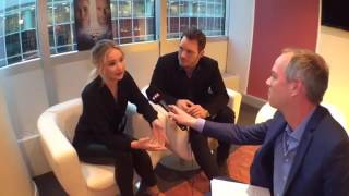 Download Jennifer Lawrence and Chris Pratt interview with TF1 Le JT Video