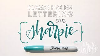 Download Brush Lettering con Sharpies | Hand Lettering en Español Video
