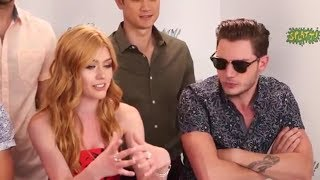 Download Dominic Sherwood Funny Moments Part 4 Video