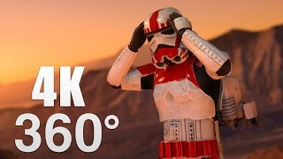 Download Star Wars Battlefront Planets 360° Video in 4K! Video