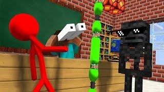 Download Monster School : AVM SHORTS - STICKMAN CHALLENGE & Epic BOTTLE FLIP CHALLENGE - Minecraft Animation Video