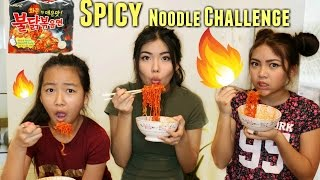 Download EXTREME SPICY Noodle Challenge with Sisters !!! Video