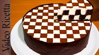 Download Torta a Scacchi - Chess Cake (con biscotti Oreo) - Video Ricetta Video