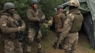 Download Lithuanian Civilians Training for Russian Attack Video