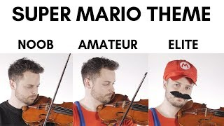 Download 4 Levels Of Mario Music: Noob to Elite Video