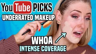Download Testing Subscribers' BEST UNDERRATED MAKEUP || Full Day Wear Test! Video