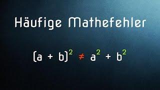 Download Die 10 häufigsten Mathefehler - und wie ihr sie vermeidet Video
