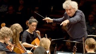 Download In rehearsal: Simon Rattle conducts 6 Berlin school orchestras Video