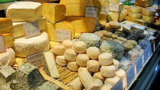 Download Paris, France: Rue Cler Street Market Video