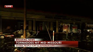 Download 'Violent tornado' in central Missouri Video