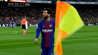 Download Lionel Messi ● Top 10 Iconic Performances in 2018 ► With Commentaries Video