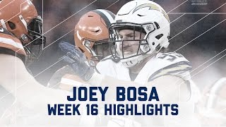 Download Joey Bosa Wreaks Havoc with 2 Sacks vs. Browns | NFL Week 16 Player Highlights Video