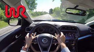 Download 2016 Nissan Maxima SR - WR TV POV Test Drive Video