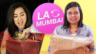 Download Women Swap Mystery Beauty Boxes • LA & Mumbai Video