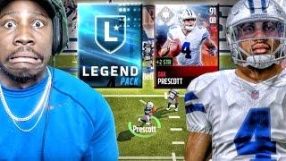 Download 91 DAK PRESCOTT & LEGEND PACK OPENING! Madden Mobile 17 Gameplay Ep. 9 Video