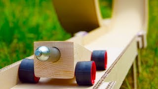 Download DIY Hot Wheels Powered by CO2 Cartridge Video