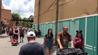 Download Toy Story Land Entrance, Star Wars Land Expands - Hollywood Studios Construction Update #21 Video