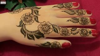 Download Leafy Art With Floral Twist Henna Mehndi Designs For Hands:Easy Simple Beautiful Trendy Mehendi 2017 Video