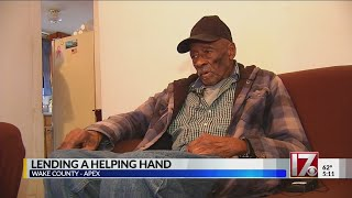 Download Lending a helping hand to Apex man Video